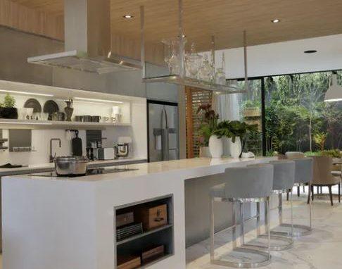 Cuisines Plan De Travail Silestone Blanc Ambiances Cuisines Aire Sur La Lys